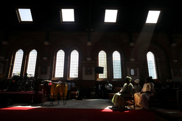 The Wider Image: African churches boom in London's backstreets