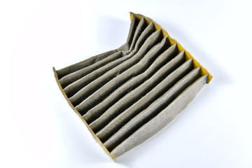 Dust filter surface of car, Useful to trap dust in the car, Make fresh air in the car clean.
