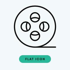 Film roll vector icon