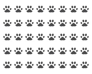 Paw background template