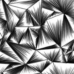 corrugated glass digital pencil drawing seamless pattern