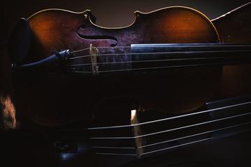 Old Violin And Cello