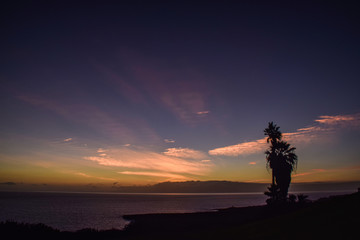 Sunset with View of La Gomera