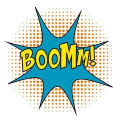 Boom Comic book cartoon explosion