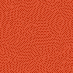 Basketball ball texture. Orange rubber coating with pimples. Seamless vector background.