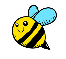 Adorable Bee Doodle