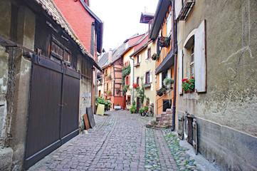 Eguisheim, Alsacia, Francia, Europa