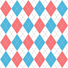 Argyle Check Pattern Image.
