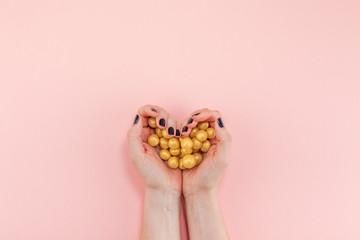 Creative Sweet Valentine Day romantic composition