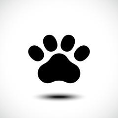Paw Print icon. Vector illustration