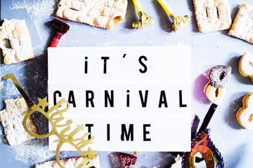 It's carnival time