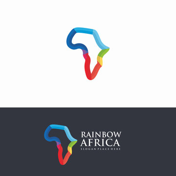 Africa Map logo