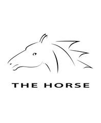 horse logo art