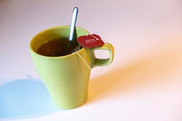 Messaggio nel tè