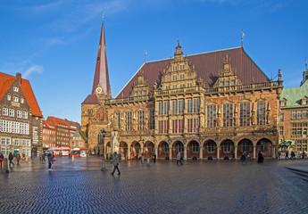 Bremen Rathaus & Roland