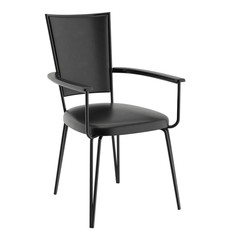 Black modern chair for cafe