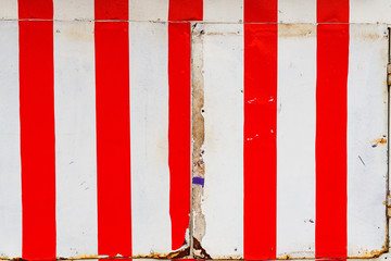 Red and white stripes pattern as background