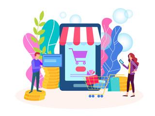 Internet shop, online credit card payment, payment method.