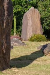 Menhirs et mégalithes - site mégalithique de Monteneuf en Bretagne