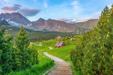 Fototapeta Mountains landscape, Zakopane, Poland, Europe obraz