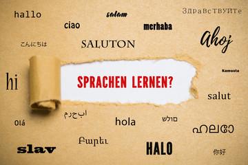 Sprachen lernen?