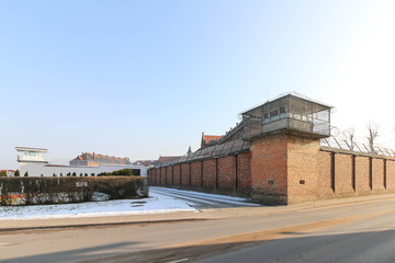 WRONKI, POLAND - Wronki Prison, the largest correctional center in Poland, holding over 1400 prisoners.