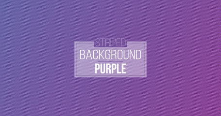 Abstract purple minimal design stripe and diagonal lines pattern on purple background and texture. Vector illustration.