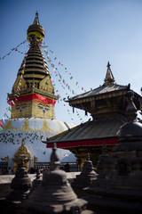 Swaymbhunath, a Buddhist temple in Kathmandu