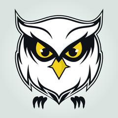 logo owl vector