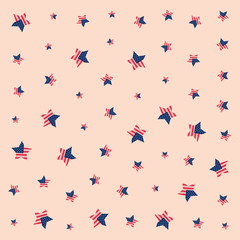 american flag stars background pattern