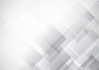 Abstract technology white and gray color modern background design, White geometric texture. Vector Illustration