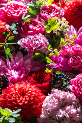 沢山の素敵な花の集合写真