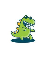 Crocodile logo template
