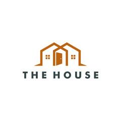 House Logo design, Home icon vector illustration
