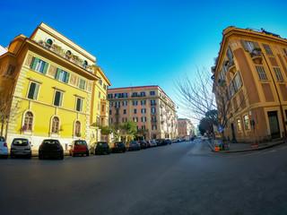 Beautiful Street in Rome