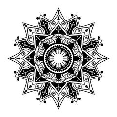 Spiritual mandala pattern