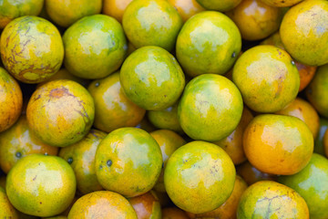 Oranges fruit for sale in the market.