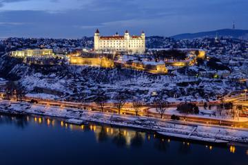 City View from Bridge, Bratislava, Slovakia