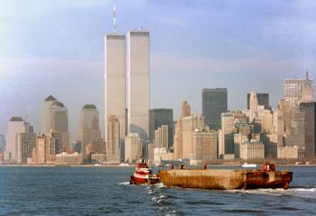 World Trade Center on February 1988 at New York
