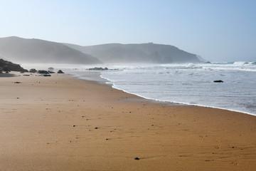Portugal, côte atlantique, plage de Amado