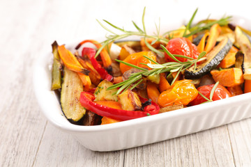 Wall Mural - roasted vegetable and tyme
