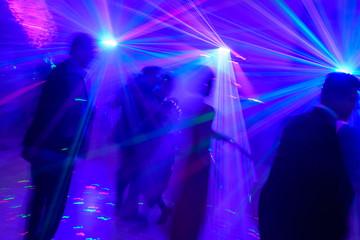 Discotheque, Lasershow, Dancing