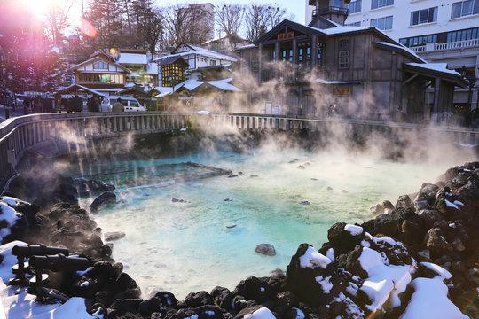 【日本の温泉】草津温泉の湯畑