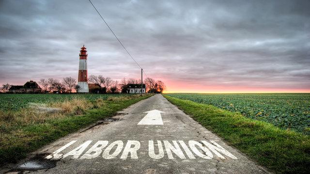 Sign 392 - LABOR UNION