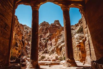 The Garden Hall in Petra, Jordan
