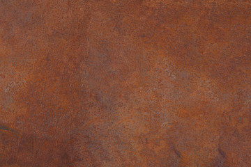 Grunge rusted metal texture, rust and oxidized metal background. Old metal iron panel.  Wall mural