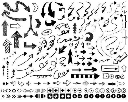 手書き矢印セット