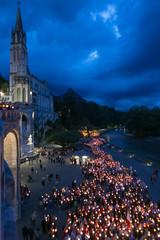 Porcesion de las velas Lourdes