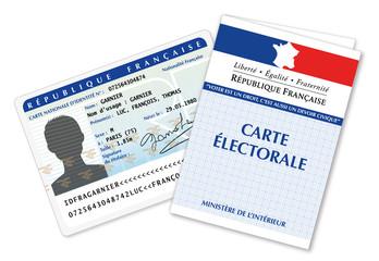 Carte électorale et carte d'identité Française-6