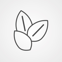 Sesame vector icon sign symbol